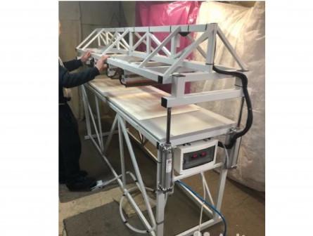Полуавтомат для изготовления вкладышей из пэ