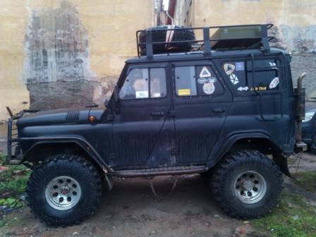 Продаю УАЗ 315196, 2011г, черный