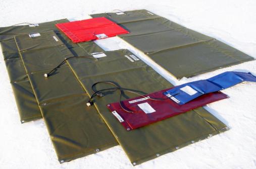 Термоэлектроматы для прогрева бетона
