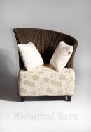 Плетеное кресло из сизаля Pina 1