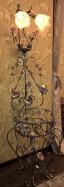 Торшер с полочкой 11152 CI