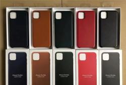 Кожаный чехол на iPhone 11 / pro / max и т.д