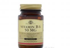 Витамин В6. 50 mg Solgar. из США