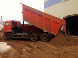 Доставка щебень гравий торф глина песок