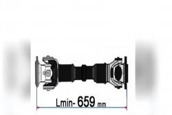 Карданный вал 157К-2201011-02