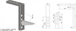 Кабельная потолочная Стойка СКП1000 УТ1,5 горячий цинк