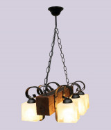 Люстра брус 6 ламп