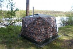 Палатка Куб 2,2 Походная баня Уралзонт