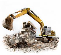 Снос зданий и сооружений с последующей утилизацией строительного мусора
