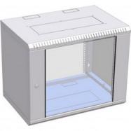 Шкаф настенный 4U 600x450х281 (разобранный), серый