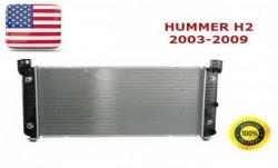 Радиатор охлаждения Hummer H2 2003-2009