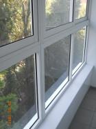 Раздвежные легкие окна на балкон