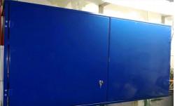 Шкаф-полка гаражная металлическая