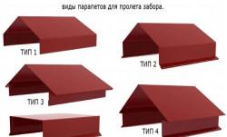 Парапетная планка: заборы, здания