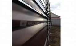 Забор-жалюзи grand-steel Standart 2х1,8 м