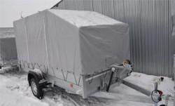 Прицеп для снегохода 3,5м на 1,5м новый