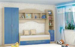 Детская комната Радуга синяя в наличии со склада