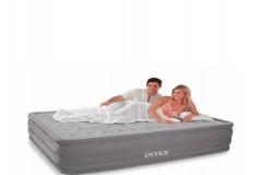 Надувные матрасы кровати высокие Intex все виды