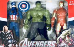 Набор Железный Человек Халк Капитан Америка