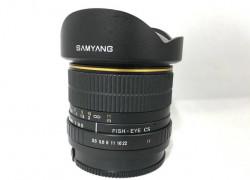Объектив Samyang 8mm f/3.5 Fish eye