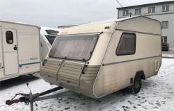 Компактный караван KIP 750кг с палаткой и акб
