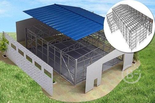 Строительство быстровозводимых зданий и стеллажей