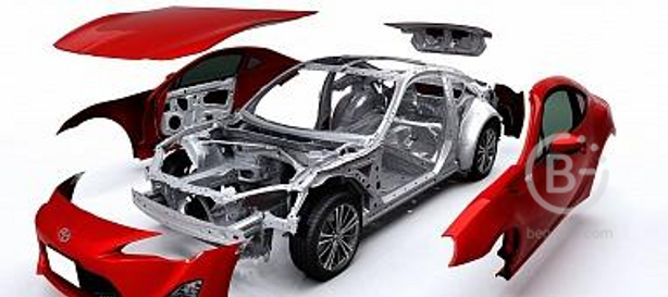 Детали кузова, салона, электрооборудование, детали двигателя, АКПП и др.