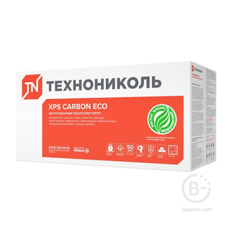 Теплоизоляция Технониколь Carbon Eco Fas/2 S/1 1180x580x50 мм