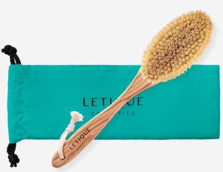 Щетка для сухого массажа Letique.