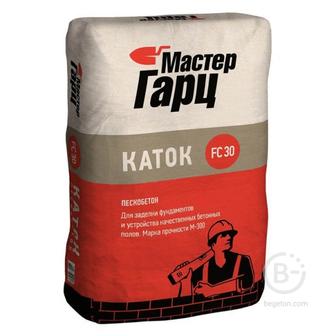 Пескобетон Мастер Гарц Каток 50 кг