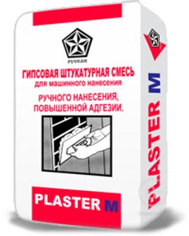 Штукатурка гипсовая Plaster-M
