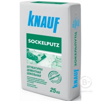 Штукатурка Sockelputz цементная цокольная
