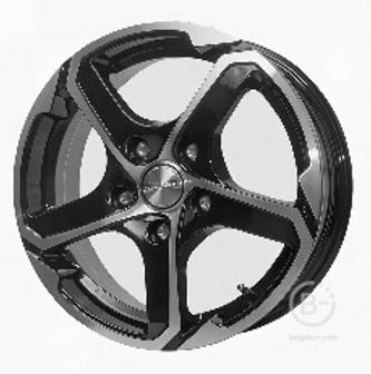 Диск колеса литой СКАД Аллигатор 6х15 5х114,3 ЕТ45 ст67,1 алмаз