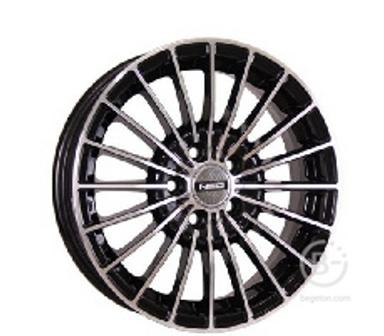 Диск колеса литой NEO-537 6х15 4х98 ЕТ38 ст58,6 Цвет-BD