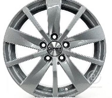 Диск колеса литой Carwel Имлес-165 6х15 5х100 ЕТ38 ст57,1 Цвет-SL