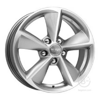 Диск колеса литой КиК КС681 6,5х16 5х112 ЕТ50 ст57,1 Цвет-Сильвер(Серебро)