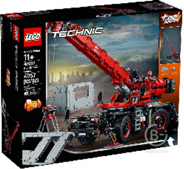 """Конструктор LEGO TECHNIC """"Подъёмный кран для пересечённой местности"""" 42082"""
