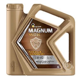 Масло РОСНЕФТЬ RN Magnum Maxtec 5W-40 4+1л полусинт. АКЦИЯ
