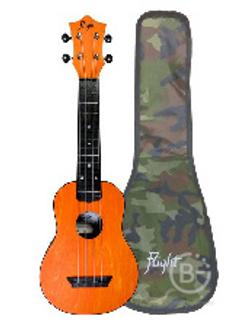 Укулеле FLIGHT TUS 35 OR - укулеле Travel, сопрано, оранжевая, пластик