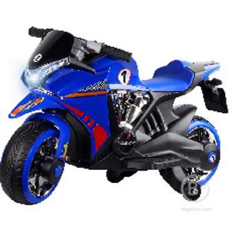 Электромотоцикл City-Ride Синий 2*6V4,5Ah водяной пар CR002BL