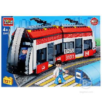 Конструктор Город Мастеров Новый трамвай, 327дет 5541-CG