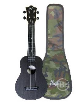 Укулеле FLIGHT TUS 35 BK - укулеле Travel, сопрано, черная, пластик