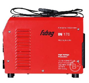 Аппарат сварочный инвертор IN-176 220В 10-160А ЭЛ=1,6-4мм FUBAG
