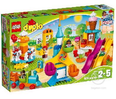 Конструктор LEGO DUPLO Большой парк аттракционов 10840