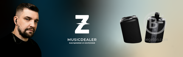 Новинка! Колонка Z MusicDealer Double Beef Dark Grey