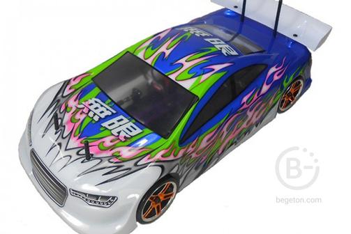 Радиоуправляемый автомобиль с ДВС HSP Nitro Car XSTR POWER 4WD 1:10