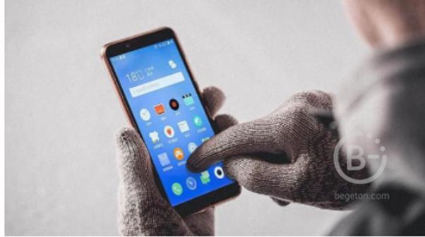 Выгодная цена на перчатки для сенсорных экранов