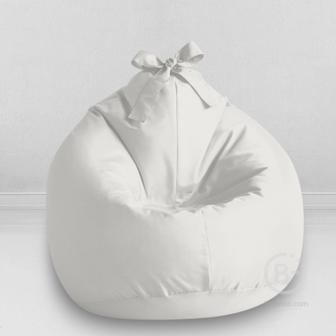 Кресло-мешок детский MyPuff Kids Белый, оксфорд: m_018