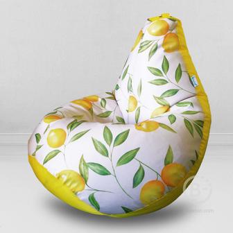 MyPuff кресло мешок Груша Мистер Лимончелло, размер Стандарт, хлопок и оксфорд: b_595_113