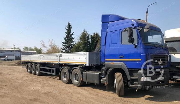 Седельный тягач МАЗ-643028-520-020 пневмоподвеска ССУ 1250 мм